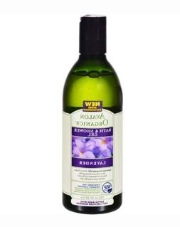 Avalon Organics Bath and Shower Gel Lavender - 12 fl oz