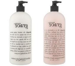 philosophy duo super-size fragrance shower gel body lotion b