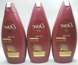 Dove Pro-age Body Wash 500ml - 3 Pack Quantity