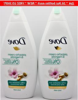 6 x Dove Purely Pampering Pistachio Cream with Magnolia Body