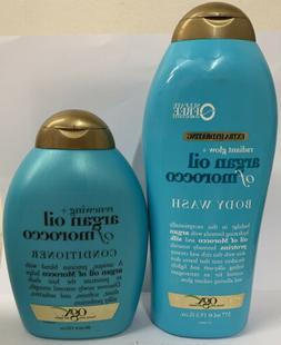 OGX® Radiant Glow Argan Oil of Morocco Body Wash and Condit