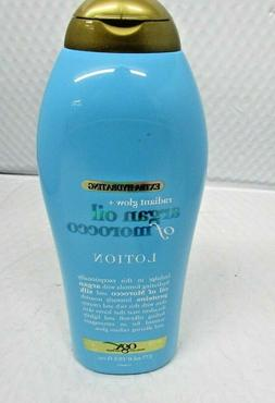 OGX Radiant Glow + Argan Oil of Morocco Extra Hydrating Loti