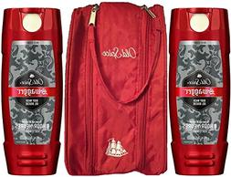 Old Spice Red Zone Body Wash, Swagger, 16 Oz  Bundled with T