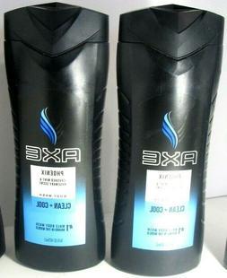 AXE Revitalizing Shower Gel, Phoenix, 12-Ounce Bottles