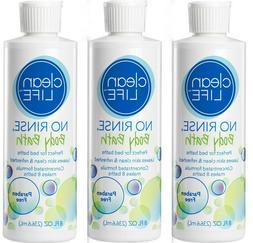 No Rinse No Rinse Body Bath, 8 oz