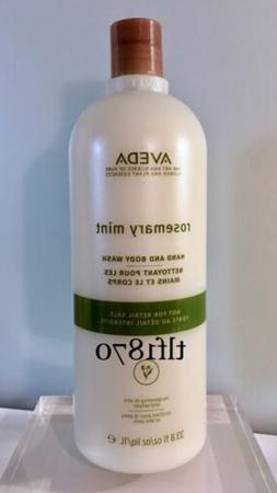 Aveda Rosemary Mint Hand And Body Wash  33.8 fl oz/ 1 L
