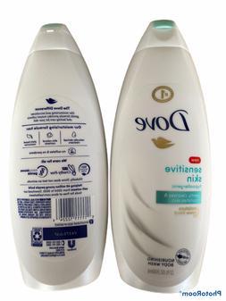 Dove Sensitive Skin Nourishing Body Wash, Unscented 22 oz