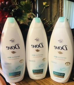 Dove Sensitive Skin Body Wash 22 oz  650 ml  - PACK OF 3