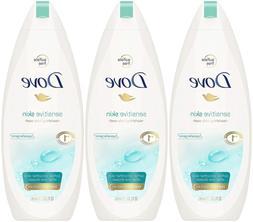 Dove Sensitive Skin Nourishing Body Wash, 12 Fluid Ounce Pac