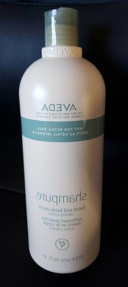 Aveda Shampure Hand & Body Wash  33.8oz+ Free Aveda Hand Rel
