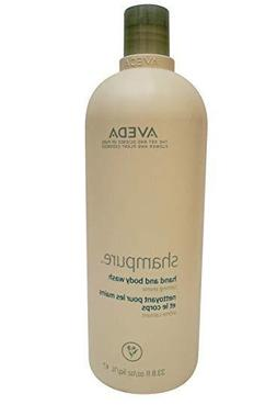 AVEDA Shampure Hand and Body Wash 33.8oz NEW FREE FAST PRIOR