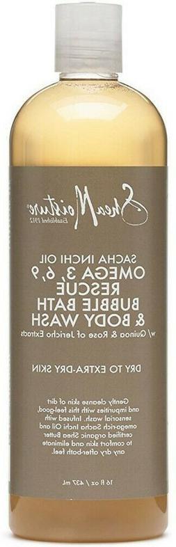 Shea Moisture Sacha Inchi Oil Omega-3-6-9 Rescue Bubble Bath