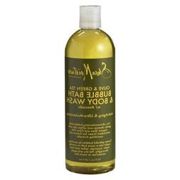 SheaMoisture Olive & Green Tea Bubble Bath & Body Wash - 16