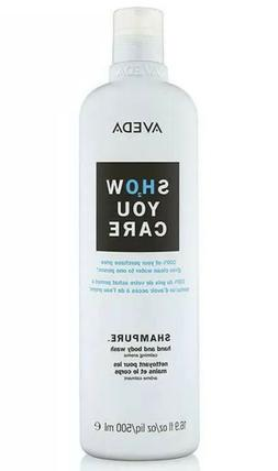 AVEDA SHOW YOU CARE SHAMPURE HAND AND BODY WASH 16.9 oz