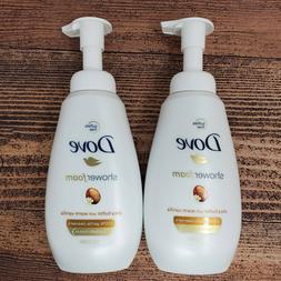 Dove Shower Foam Shea Butter with Warm Vanilla Foaming Body