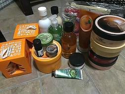 The Body Shop Skin Care Selection: Body Butters, Hand Creams