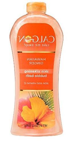 Calgon Skin Silkening Bubble Bath /Hawaiian Ginger 30 Fl. Oz