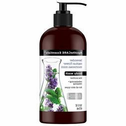 ApotheCARE Essentials Body Wash, Lavender, Cactus Flower, Mo