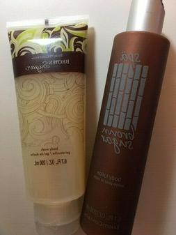 BeautiControl Spa Brown Sugar Body Lotion and Body Wash! Fre