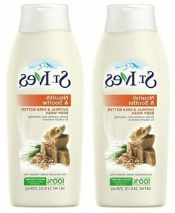ST.IVES BODY WASH OATMEAL & SHEA BUTTER 24 oz