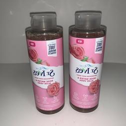 St Ives Rose Water & Aloe Vera 16 oz Refreshing Body Wash Se