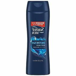 Suave Men Body Wash, Refresh, 15 Fl Oz