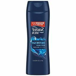 Suave Men Body Wash, Refresh, 15 Fl Oz Unit Refresh