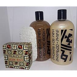 Greenwich Bay Super Dad! Soaps Tool Kit - Scrub, Shampoo Sho