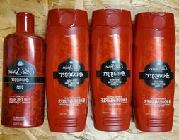Old Spice Swagger/FIJI  Body Wash & 2 in 1 Shampoo & Conditi