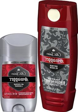 Old Spice 2 Swaggers in 1 Box: Body Wash  & Deodorant  Combo