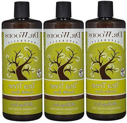 Dr. Woods Pure Tea Tree Liquid Castile Soap, 32 Ounce