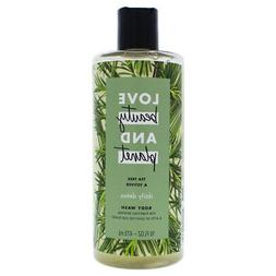 Love Beauty and Planet Tea Tree and Vetiver Body Wash 16oz,