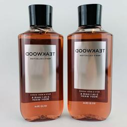 Bath & Body Works Teakwood Men's 2-IN-1 Hair & Body Wash 10