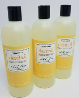 Trader Joe's Refresh Citrus Body Wash with Vitamin C - Cruel
