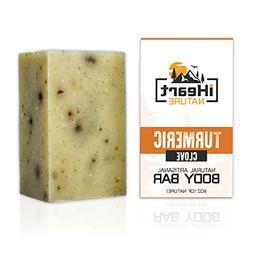 Turmeric Soap Bar  Made in USA  Ayurvedic Organic Vegan Arti