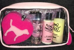 Victoria's Secret Pink Travel Pack Coconut Oil 4Pc Gift Set