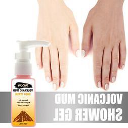Volcanic Mud Shower Milk Body Wash Deep Cleansing Skin Care