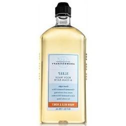 Bath & Body Works Sleep Body Wash & Foam Bath Warm Milk & Ho