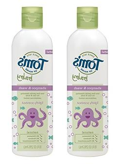 Tom's of Maine Natural Baby Shampoo and Wash, Lightly Scente
