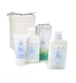 Thymes White Wisteria Gift Set Body Wash, Body Lotion & Hand
