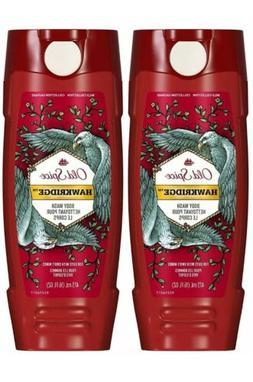 Old Spice Wild Body Wash - Wild Edition- Hawkridge -16 oz -