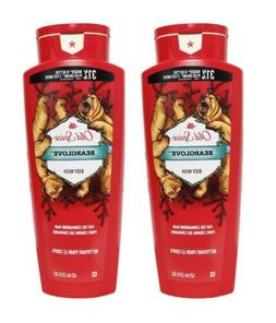Old Spice body wash wild collection bear glove 21 oz , 1.45