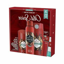 Old Spice Wild Collection Bearglove Body Wash, Body Spray, D